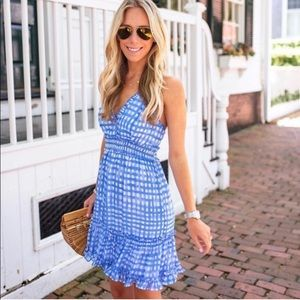 Lilly Pulitzer Cailee Dress Bennet Blue Gingham